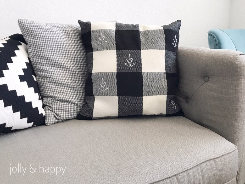 Home Decor using Cricut Iron on Designs and EasyPress