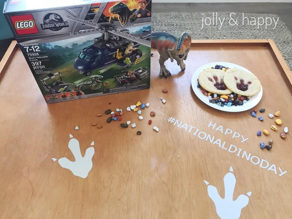 Lego Jurassic World celebrating National Dino Day