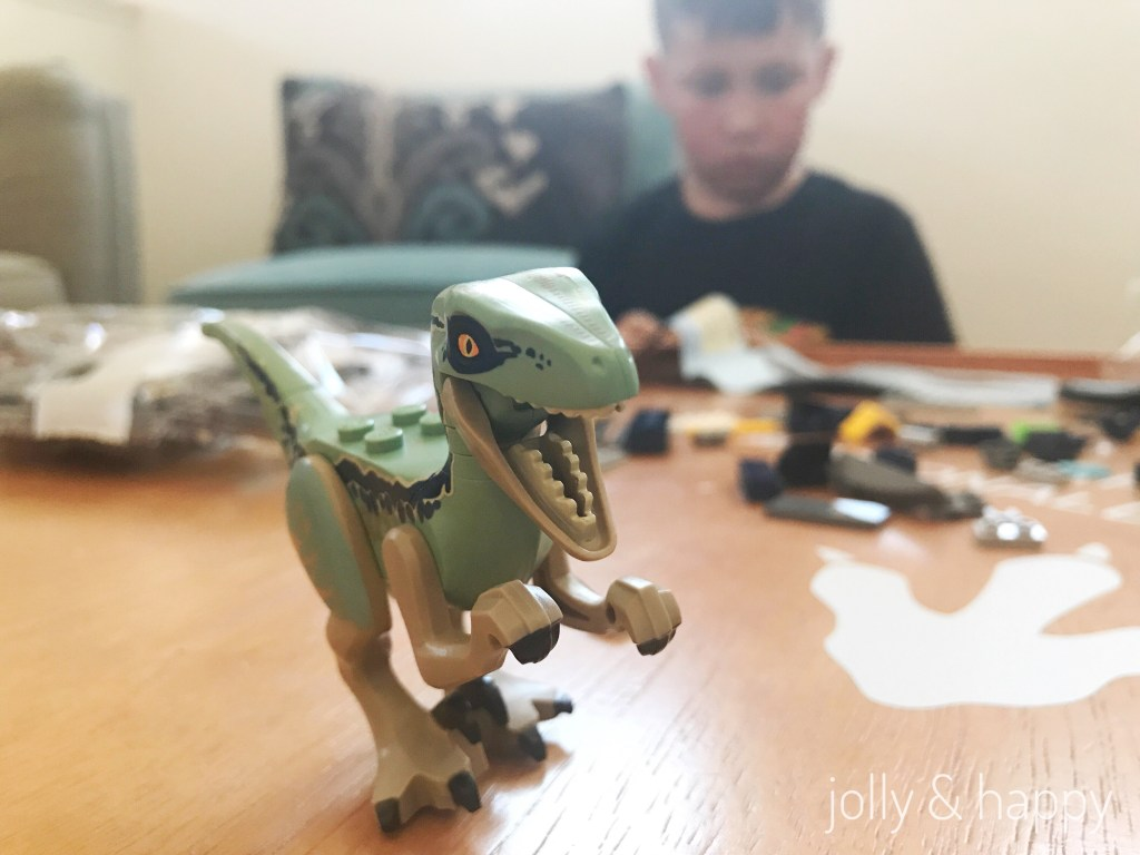 Lego Dinosaurs for Dino Day