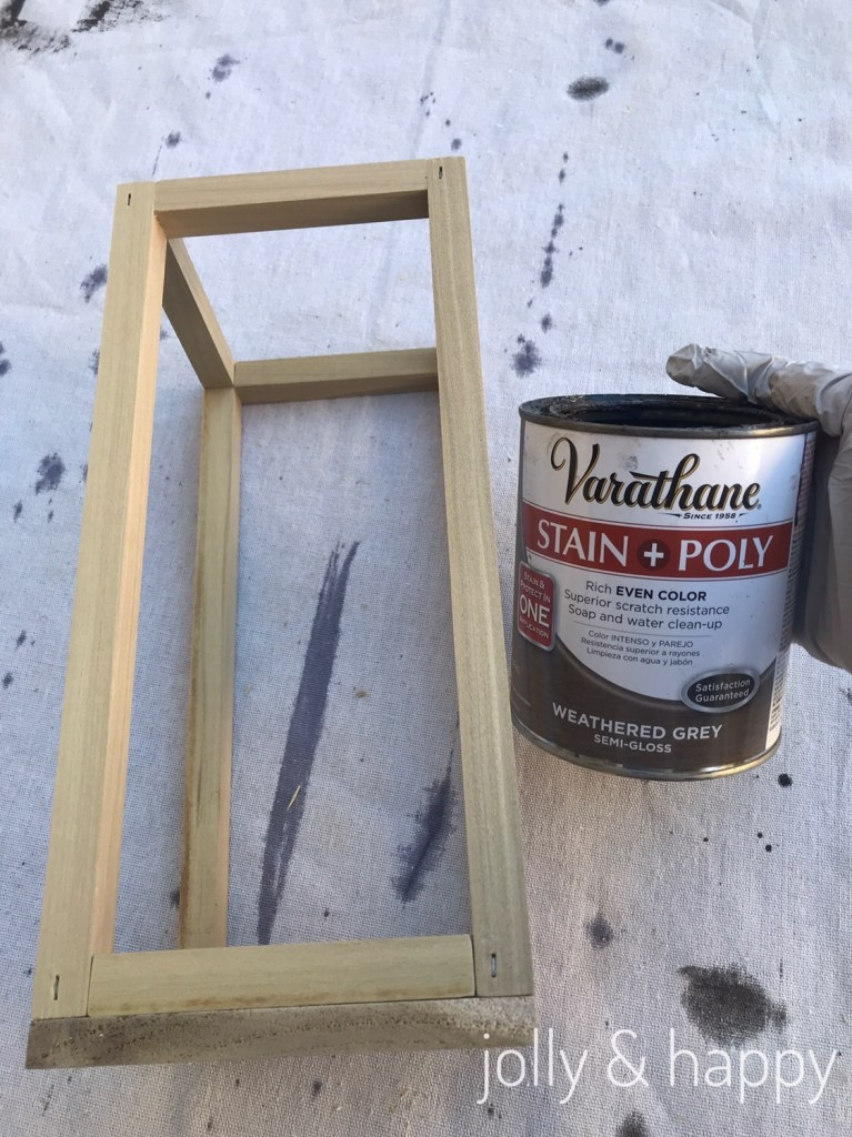build your own rustic lantern