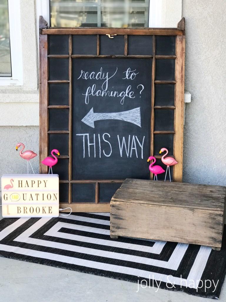 Heidi Swapp light box graduation party