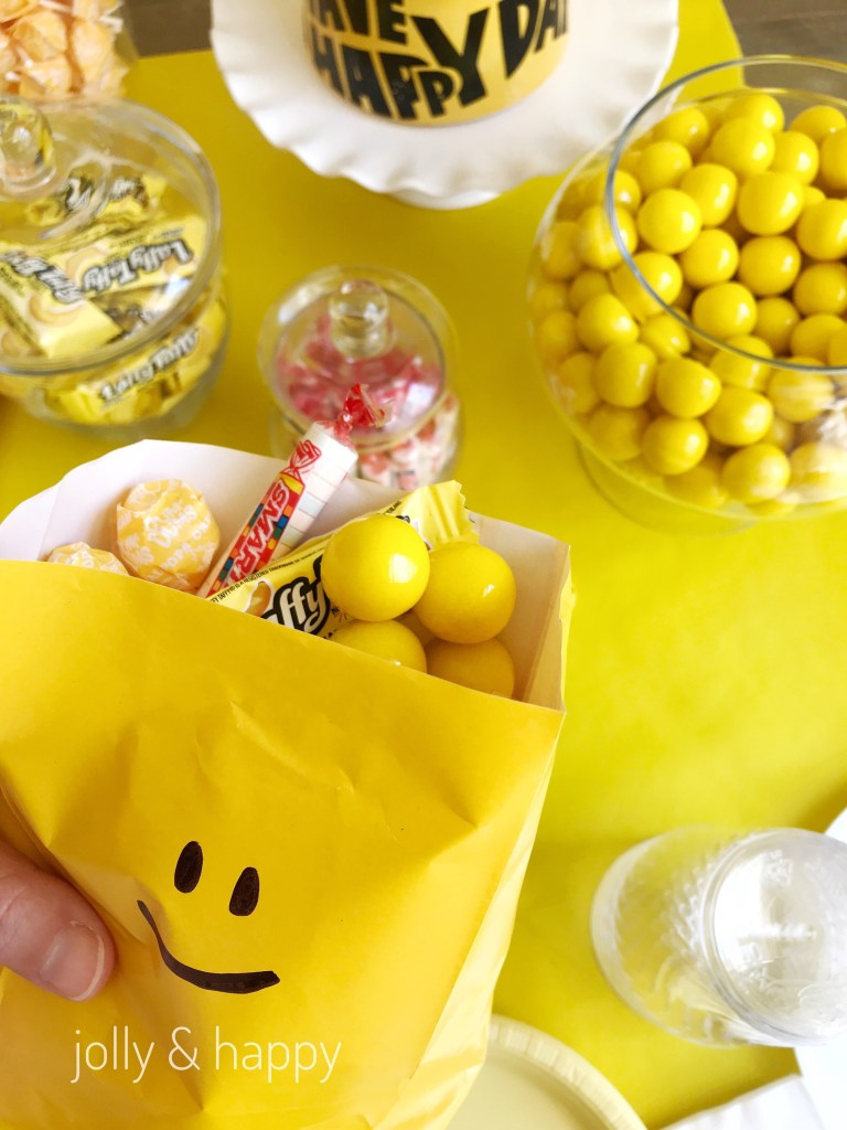 tears and cheers yellow candy bar