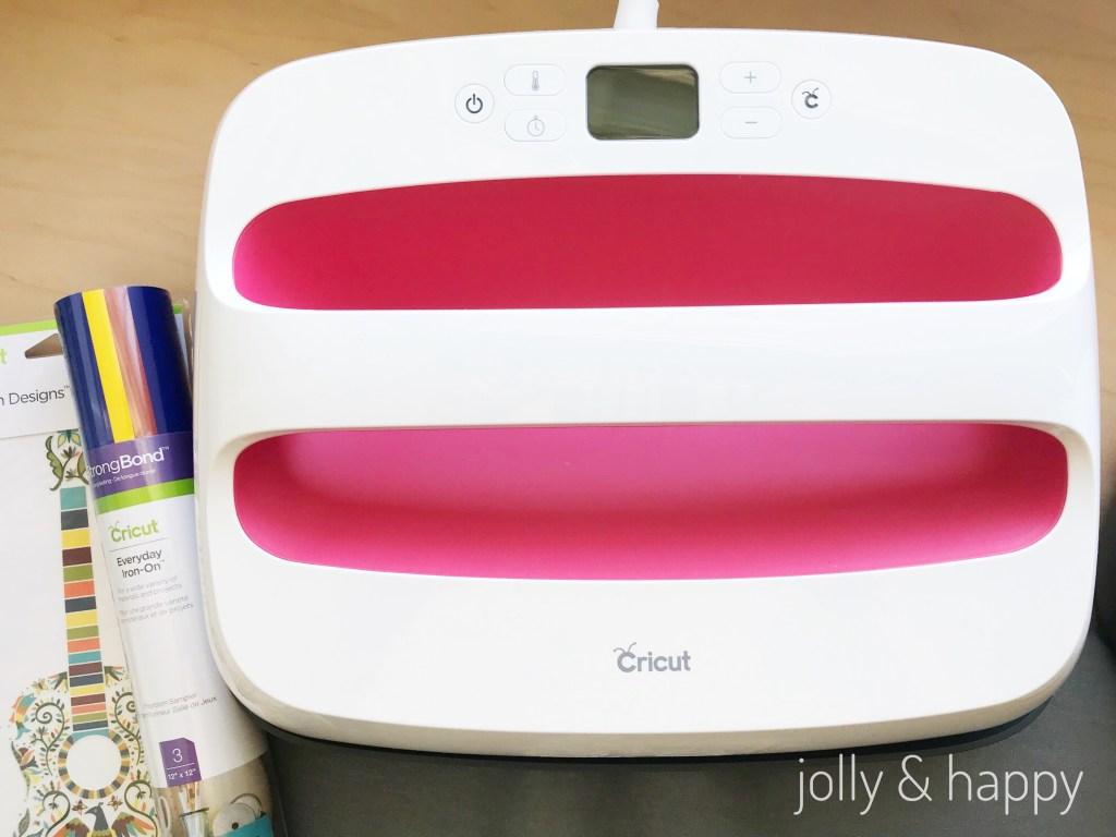 Cricut EasyPress with Cricut Iron-on