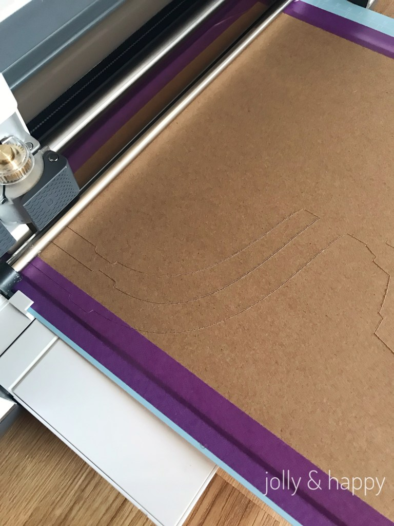 Cricut chipboard takes multiple cuts to cut to through the board