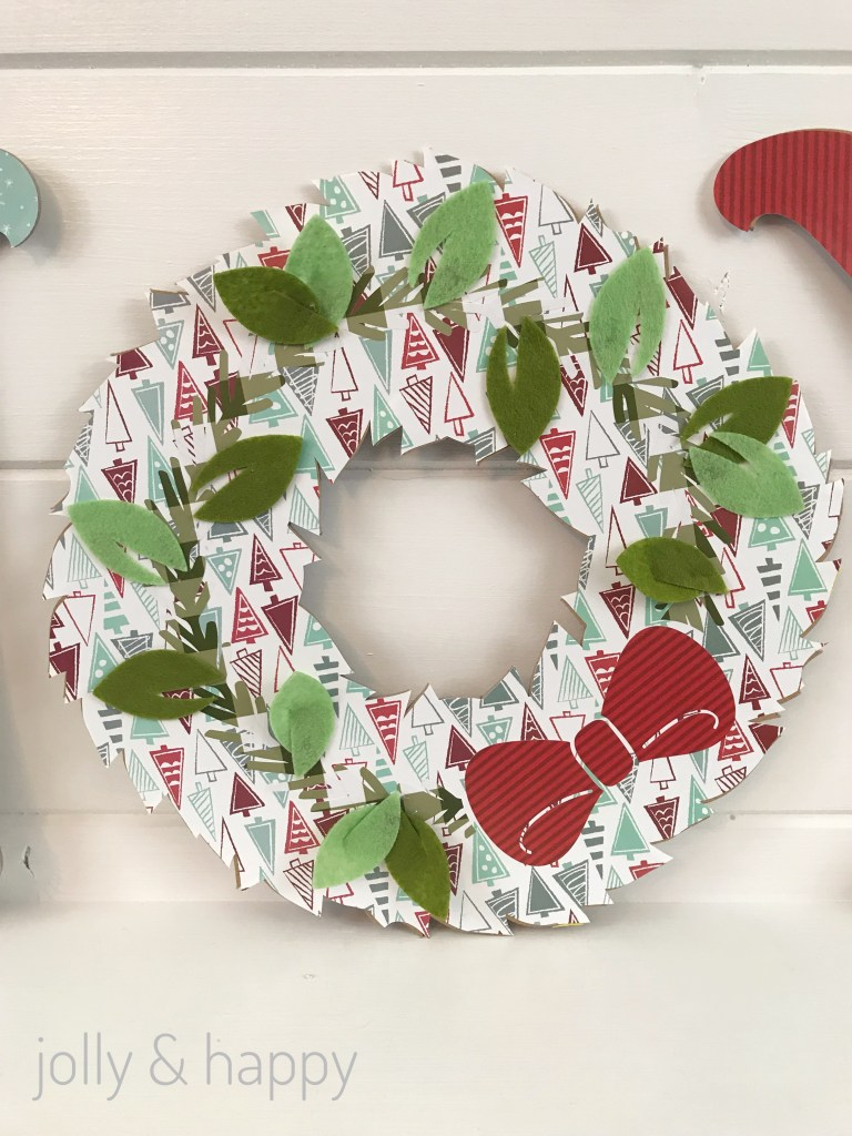 Make a wreath for the