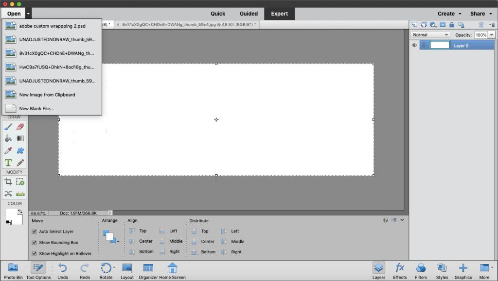 adobe photoshop elements 2019 custom file