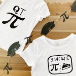 Pi Day Shirts and Banner