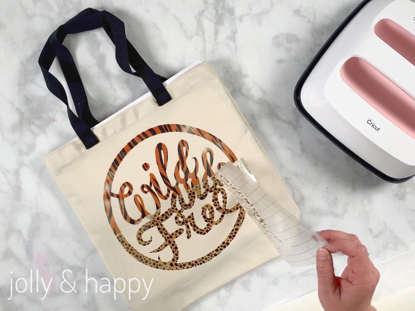 cricut tutorial custom tote bag