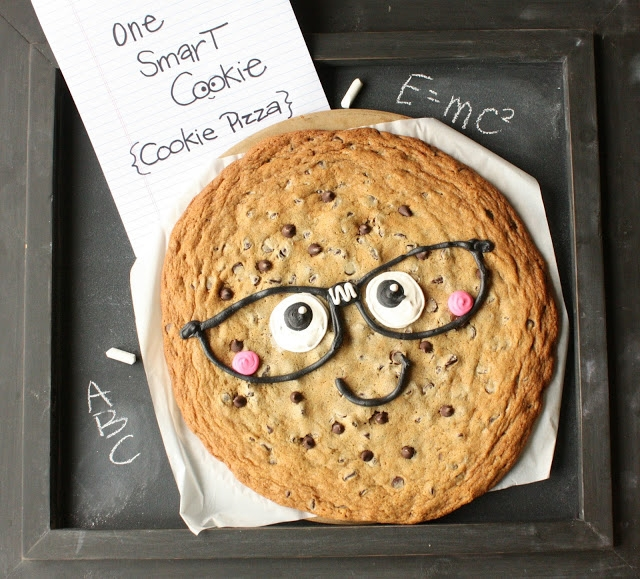 one smart cookie cookie pizza