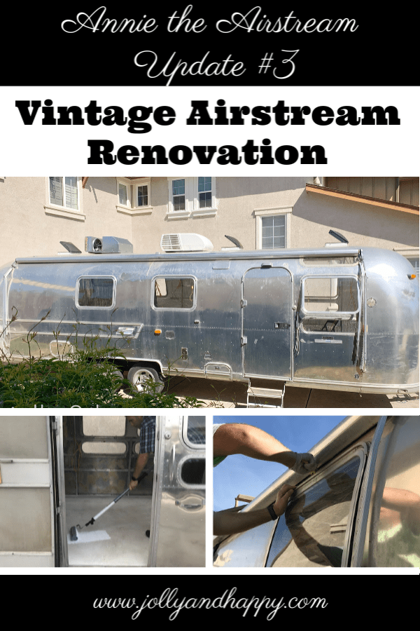 vintage airstream renovation