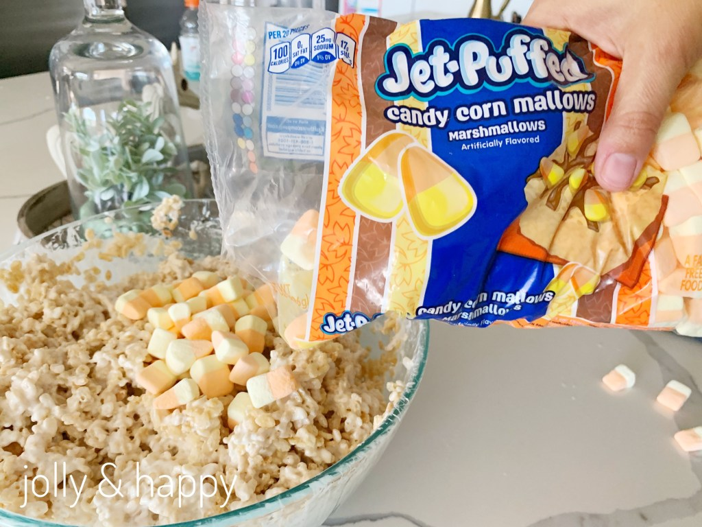 jet puffed candy corn mallows
