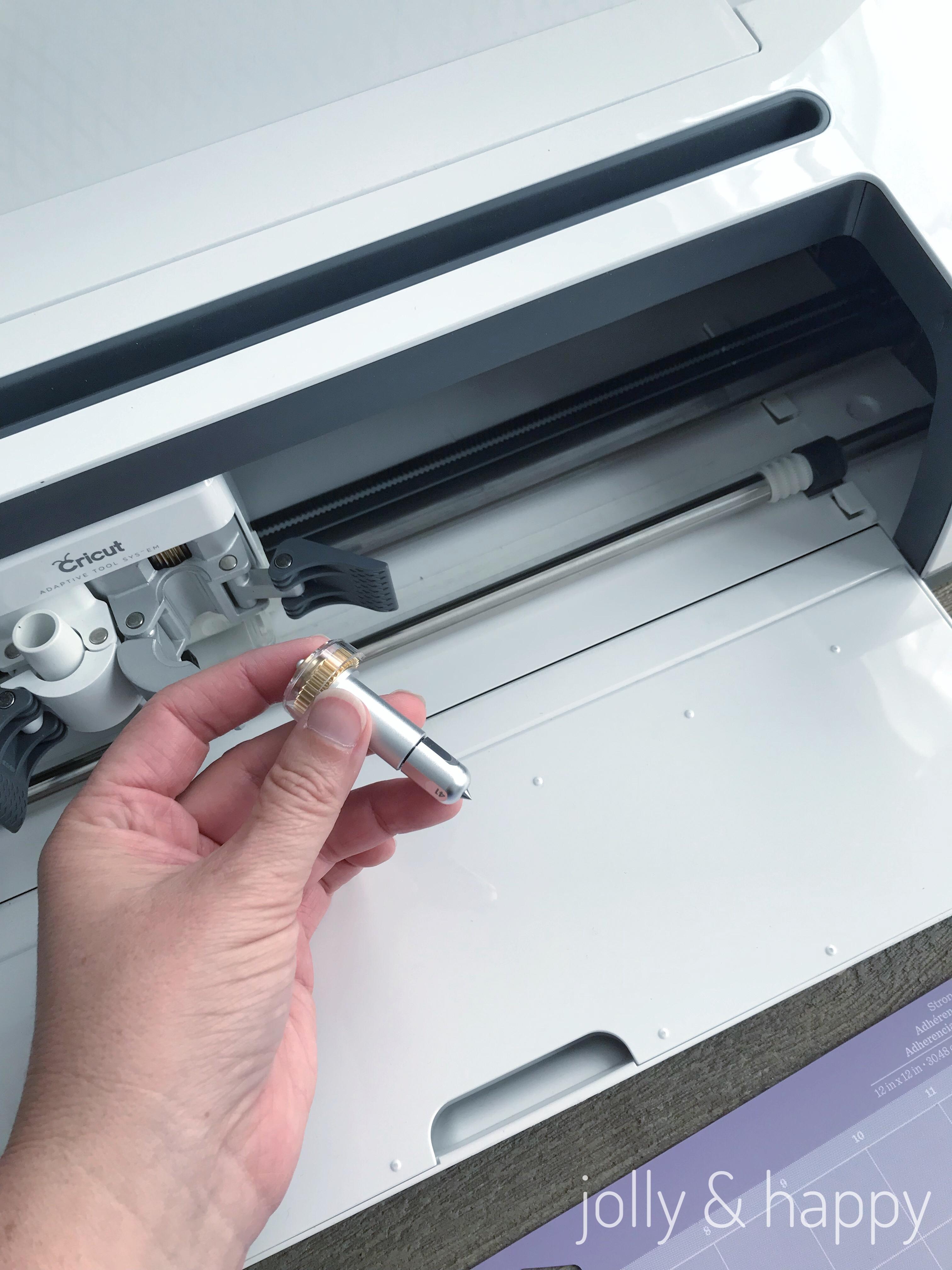 cricut maker engraving tip