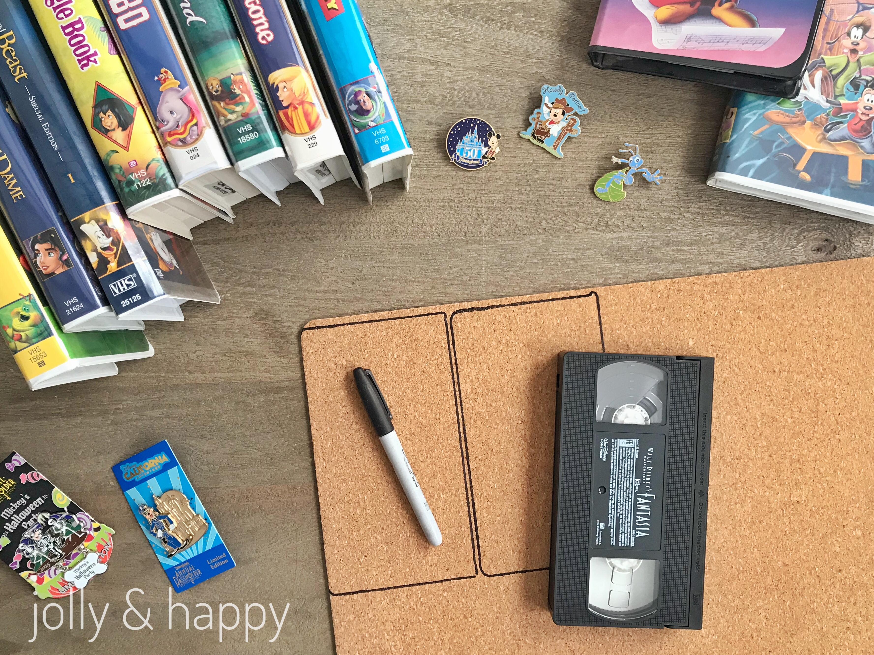 Disney VHS clamshell