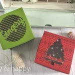Personalized Holiday Treat Boxes with Cricut Explore Air 2