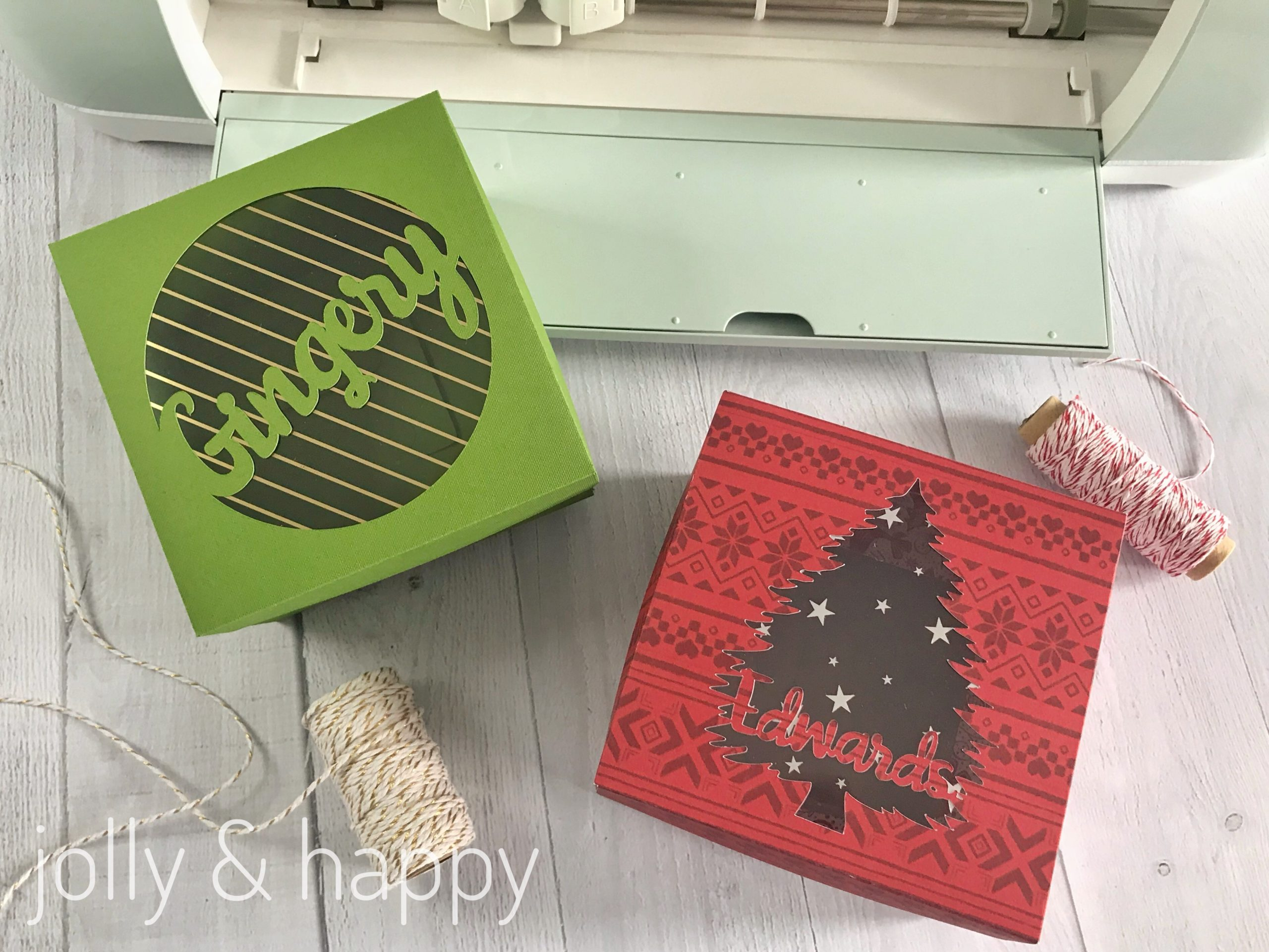 holidays with cricut
