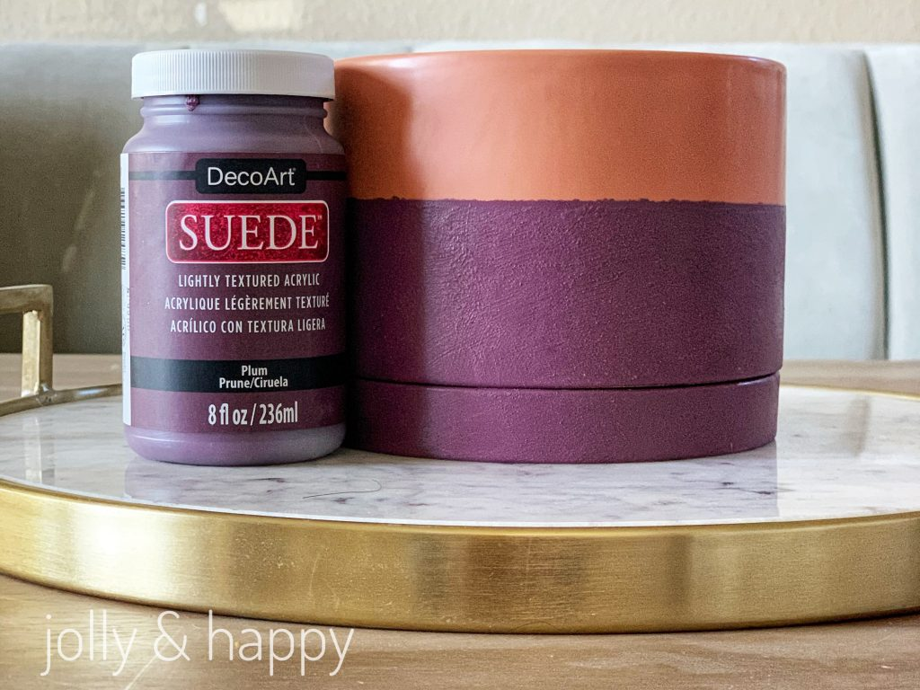 DecoArt Suede is a luxurious suede texture paint