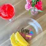 DIY Cinco De Mayo Party-ware with DecoArt Glass Paint Markers.