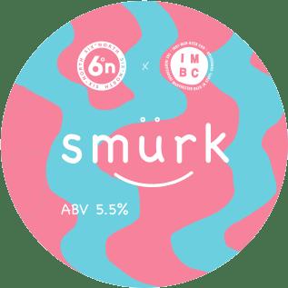 6DN Smurk badge