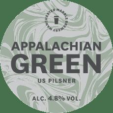 Appalchian-Green-Keg-Clip