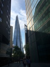 View of the Shard, the tallest building in Europe