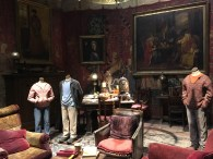 The Gryffindor common room, with costumes from the 3rd movie