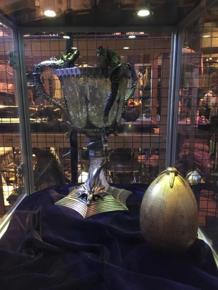 Triwizard cup and egg (4th movie)