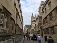 The streets of Oxford