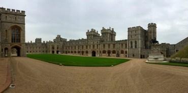 Central grounds of Windsor Castle