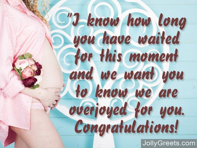 What To Write In Expectant Mother Card