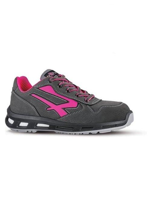 Scarpe antinfortunistiche grigio e rosa