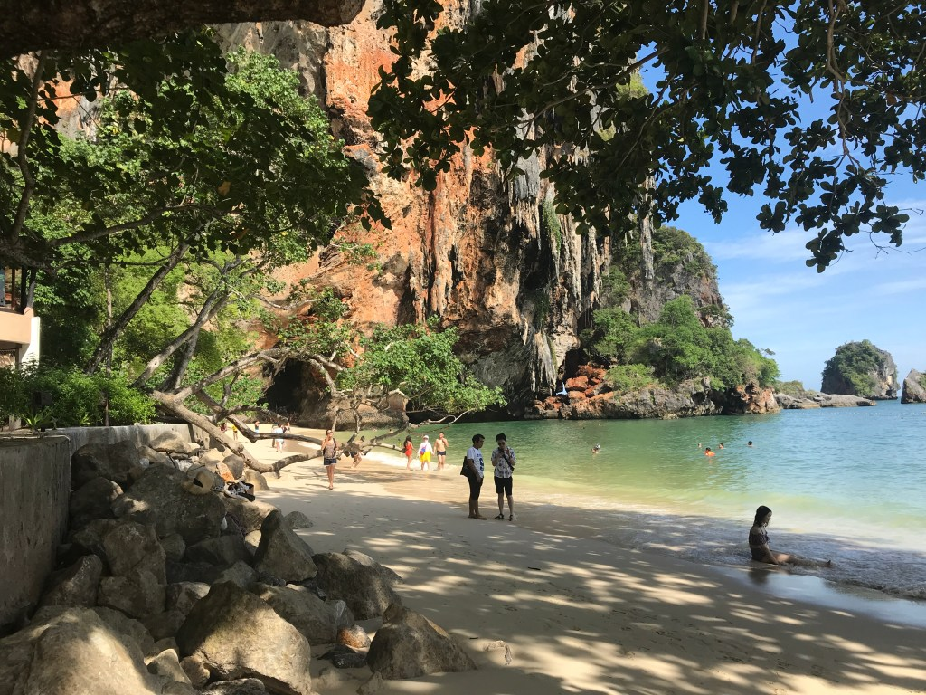 Railay Beach Krabi Thailand Jollylog