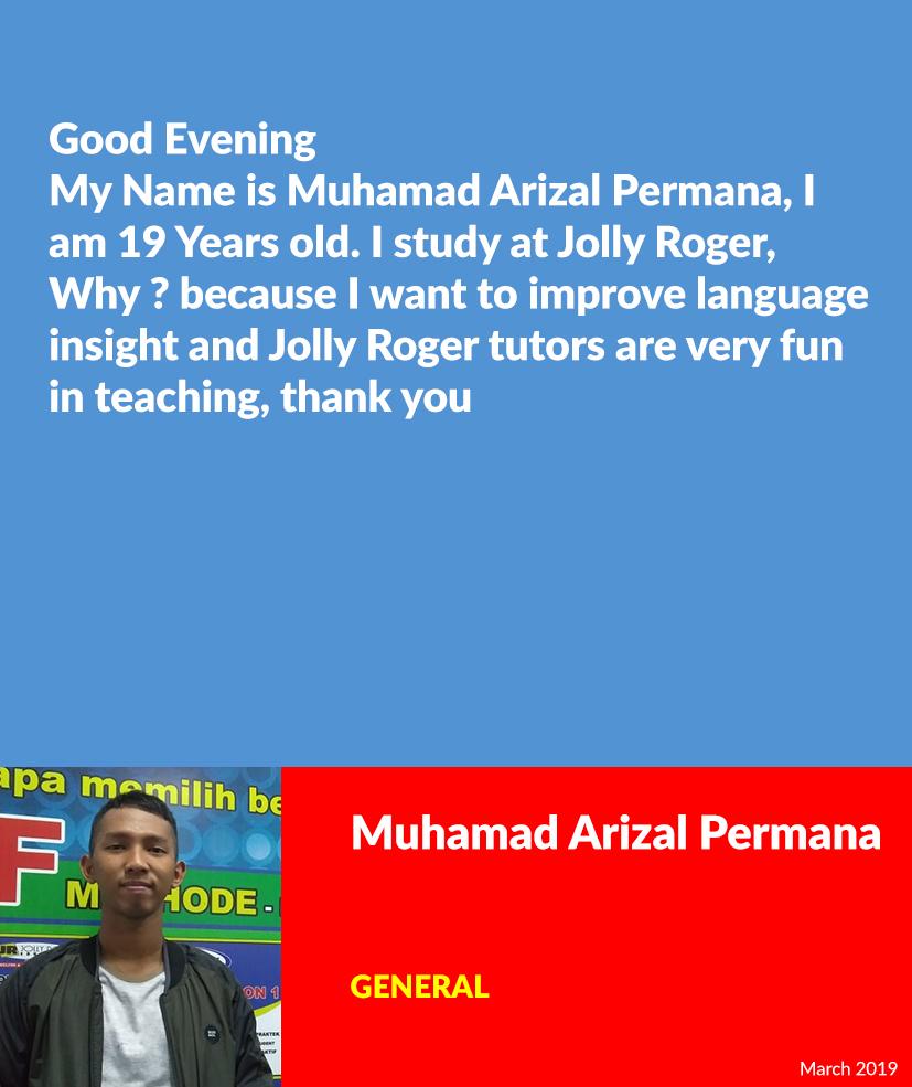 Muhamad Arizal Permana