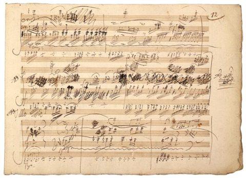 BeethovenManuscript