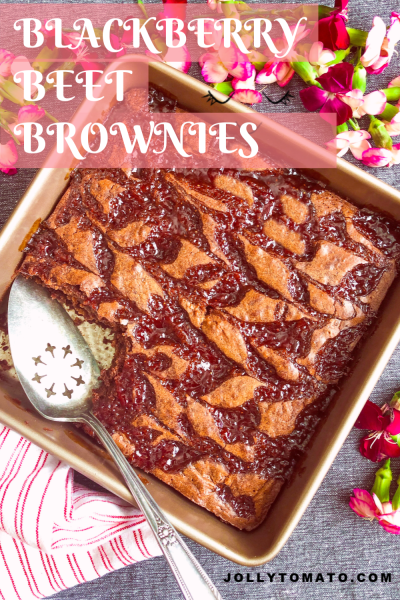 These chocolate-y, gooey, rich brownies have a secret ingredient: beets!