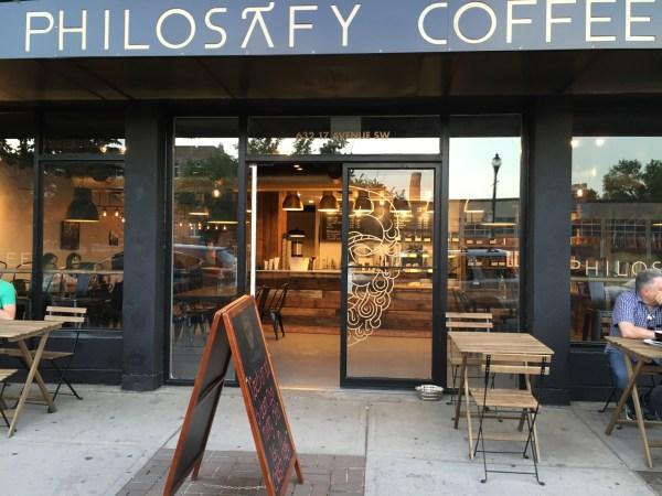 Philosafy Coffee facade.