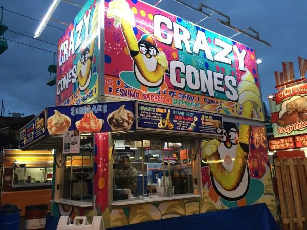 Crazy Cones.