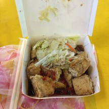 Stinky tofu on the first night