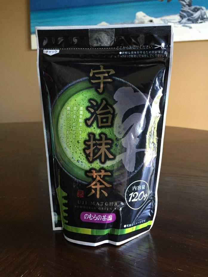 Uji matcha powder I brought back from Japan