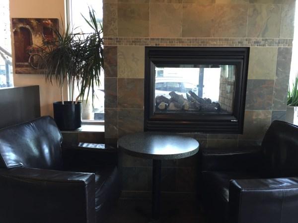 Velvet Cafe is a little run down, but cozy.