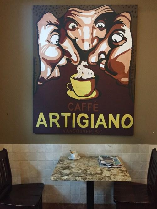 Caffe Artigiano.