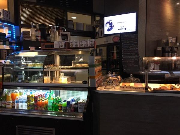 Dessert bar at Kawa.