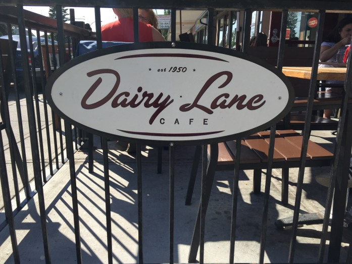 Dairy Lane Cafe.