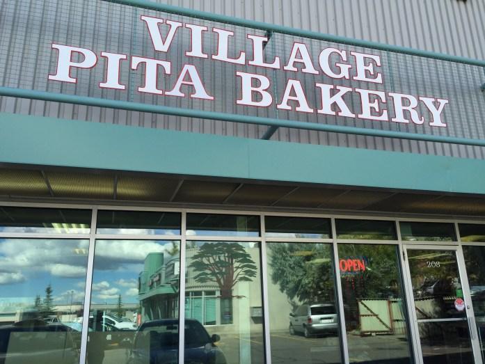 Village Pita Bakery.