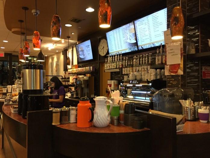 Coffee bar.