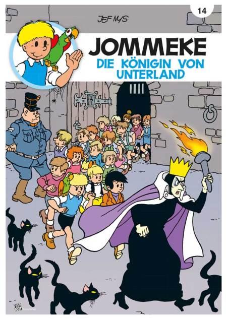 Jommeke - Die Königin von Unterland