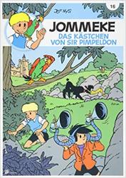 Jommeke-Das Kästchen von Sir Pimpeldon