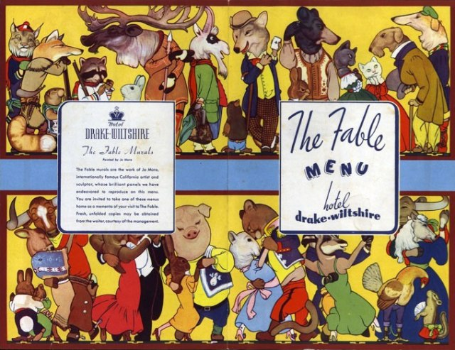 The Fable Menu