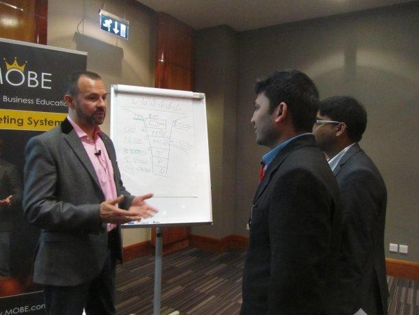 attending a seminar