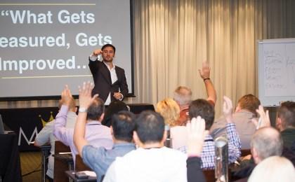 networking at a seminar