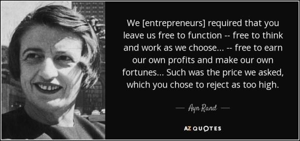 we entrepreneurs